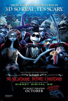 Tim Burton's The Nightmare Before Christmas in Disney Digital 3-D
